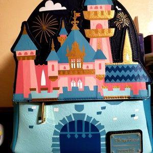 Exclusive Disney castle Mini Backpack